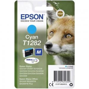 Cartouche d'encre Cyan Original Epson T1282