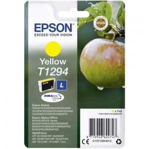 Cartouche d'encre Jaune Original Epson T1294 Pomme
