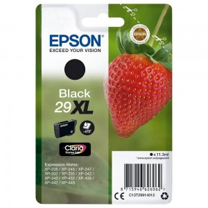 Cartouche d'encre Noir Original Epson T29XL