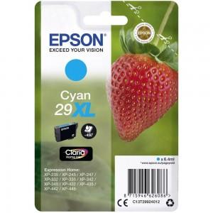 Cartouche d'encre Cyan Original Epson C13T29944012 (29XL)