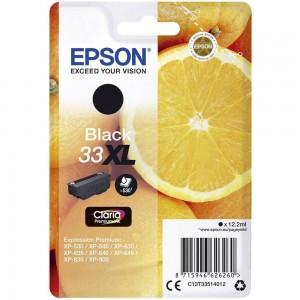 Cartouche d'encre Noir Original Epson T33XL Oranges