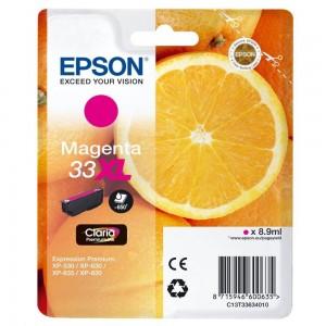 Cartouche d'encre Magenta Original Epson C13T33634012 (33XL)