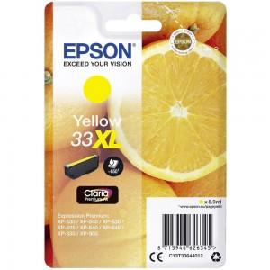Cartouche d'encre Jaune Original Epson T33XL Oranges