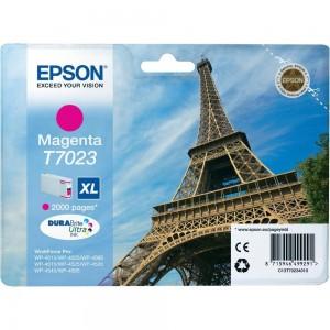 Cartouche d'encre Magenta Original Epson C13T70234010 (T7023 XL)